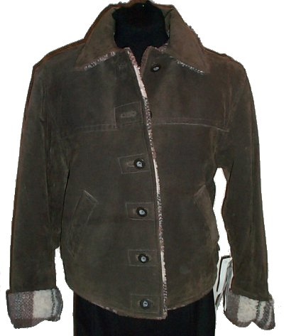 Big chill faux leather jacket