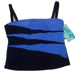 MAINSTREAM Swimsuit Separate - TOP - Misses 16 - BRAND NEW!