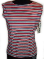 J. SUZETTE and COMPANY Sleeveless Striped Top - S