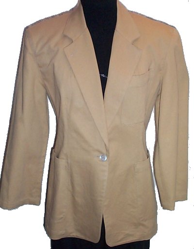 PERRY ELLIS AMERICA Horse Riding Style Jacket/Blazer - Misses/Juniors Small