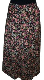 CUSTOM TAILORED Vogue Designer Bias Cut Skirt - Misses 5/6