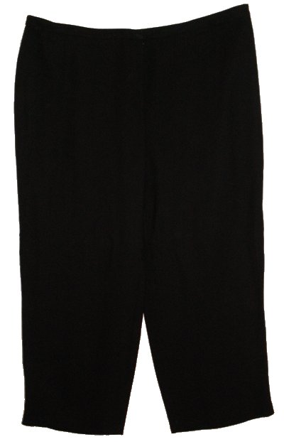CHARTER CLUB Fully Lined Black Dress Pants - Womens 24W
