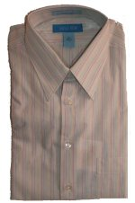 SAVILLE ROW Care Free Stain Resistant Dress Shirt - 16x34/35