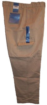 KENNETH COLE REACTION Flat Front Cargo Chinos Khakis