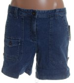 CHARTER CLUB Stretch Denim Jean Shorts - Size 14