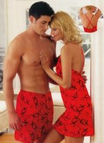 Kisses and Hugs Red XOXO Night Dress / Chemise