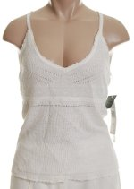 RALPH LAUREN Lauren 100% Linen Knit Halter Top - Large