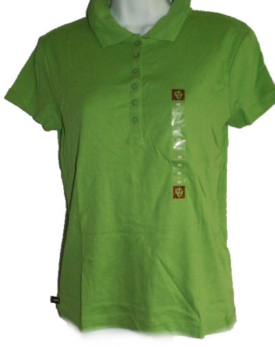 ANNE KLEIN Polo Short Sleeve Top - Small