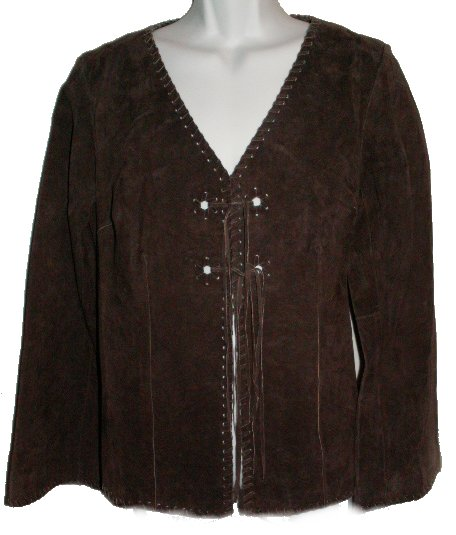 suede fringe western jacket men womens and children