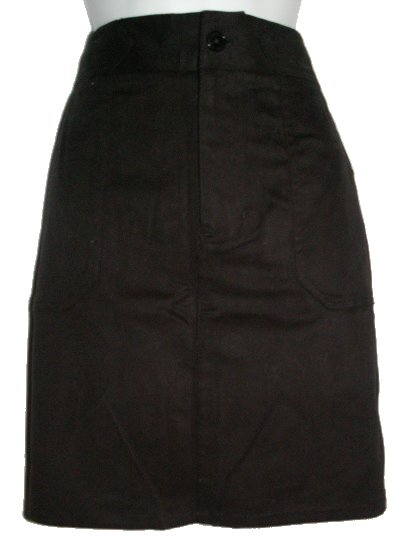 RALPH LAUREN Lauren Black Straight Skirt - 10P