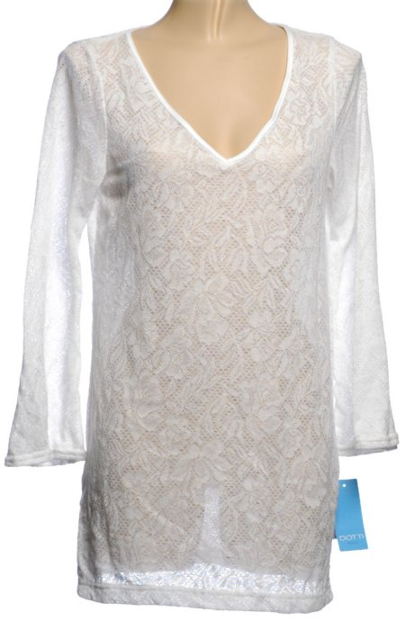 DOTTI White Lace Swimsuit Cover Up - Medium - BRAND NEW