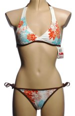 ONEILL 2 Piece Beaded String Bikini Swimsuit - Misses X-Small - BRAND NEW