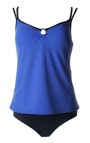 MAINSTREAM Royal Dark Blue Tankini - Size 14