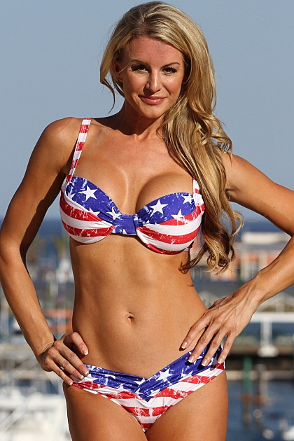 LOLA Stars and Stripes Shaper Bikini