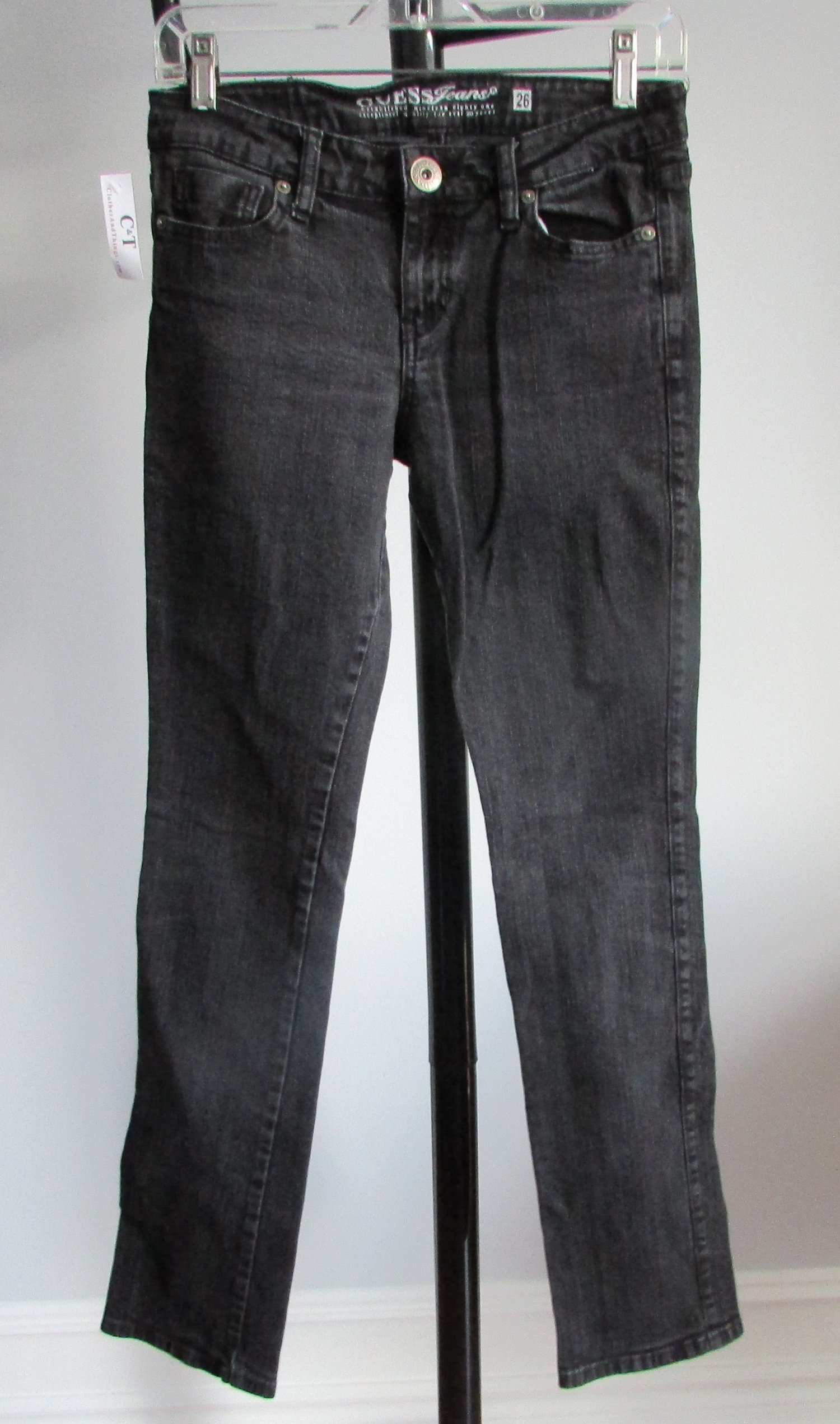 GUESS Black Skinny Stretch Jeans - 26