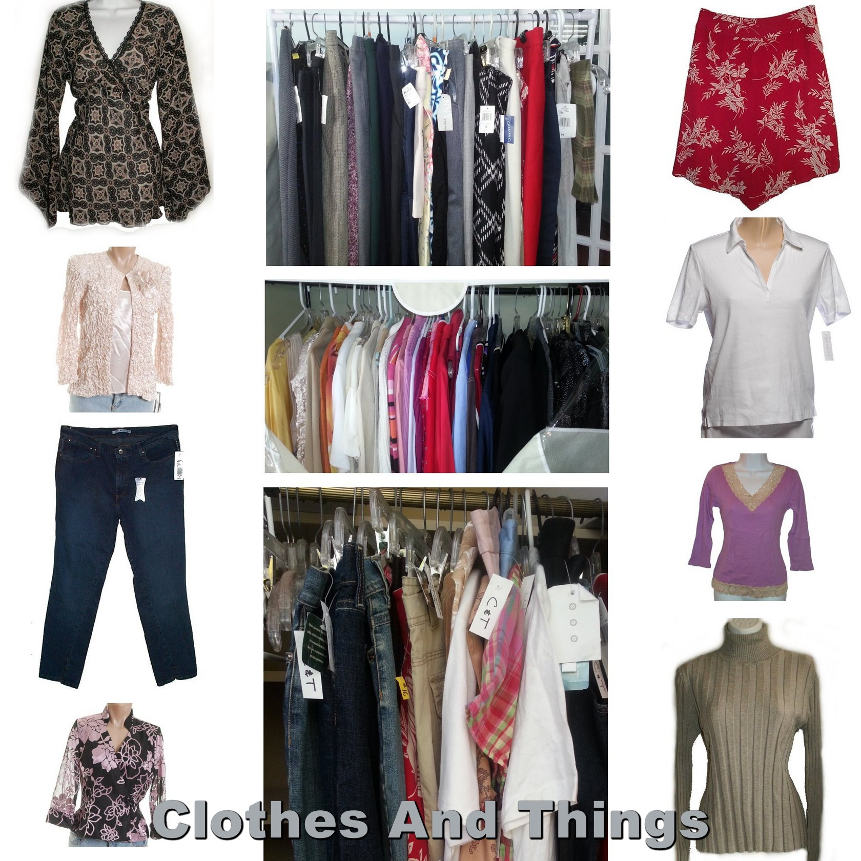 Wholesale Brand Name Designer Mixed Clothing Lot - 20 Pcs -  FREE SHIP