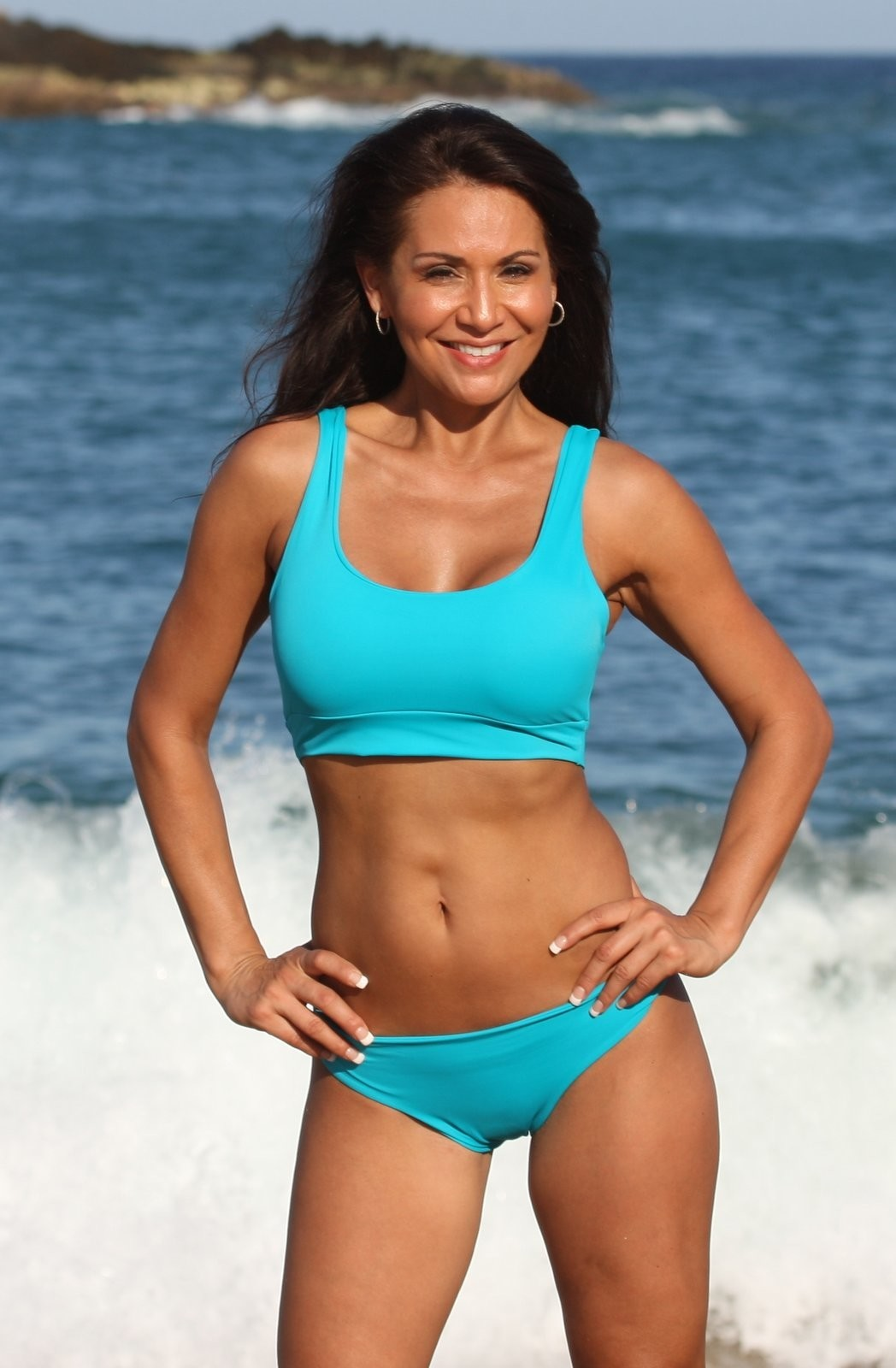 Ujena ELSA Turquoise Easy Fit Sports Bikini